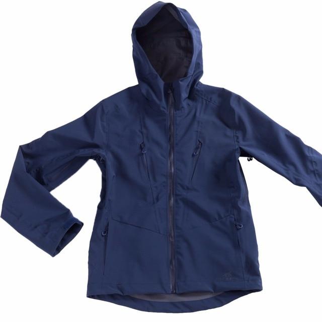 fe3ba3f2d4 US $66.56 49% OFF|Unisex Waterproof Jacket Men's Hooded Softshell Raincoat  Outdoor Hiking Windproof Women Travel Rain Jacket Water Resistant Shell-in  ...