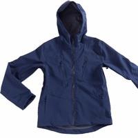 Unisex Waterproof Jacket Men's Hooded Softshell Raincoat Outdoor Hiking Windproof Women Travel Rain Jacket Water Resistant Shell