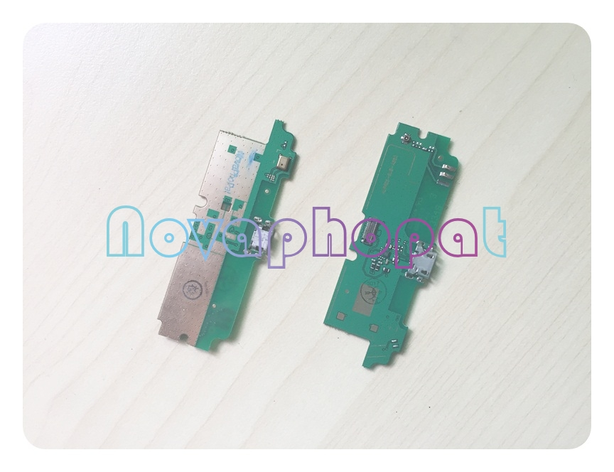 Novaphopat Charging Flex For Lenovo A850 Charger Connector Micro USB Dock Port Flex Cable Microphone Replacement + tracking