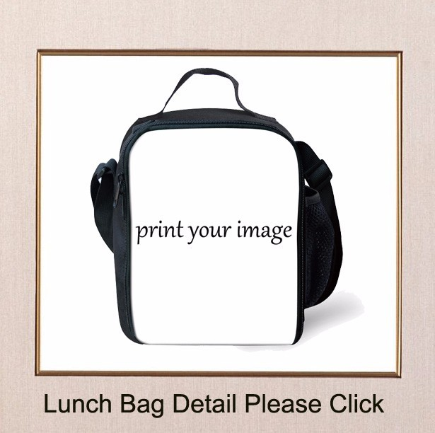 African American Cool Girl 3Pcs School Bags Set 5