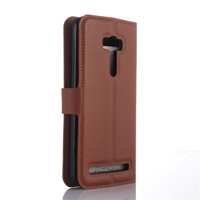 "Für Asus Zenfone Selfie ZD551KL Fall 5,5 ""Brieftasche Stil Pu-leder Telefon Schutzmaßnahmen Zurück CoverFor Asus Zenfone Selfie ZD551KL"