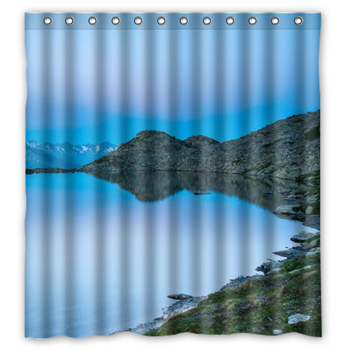 Yoosee mountains lake switzerland water luter alps nature - What uses more water bath or shower ...