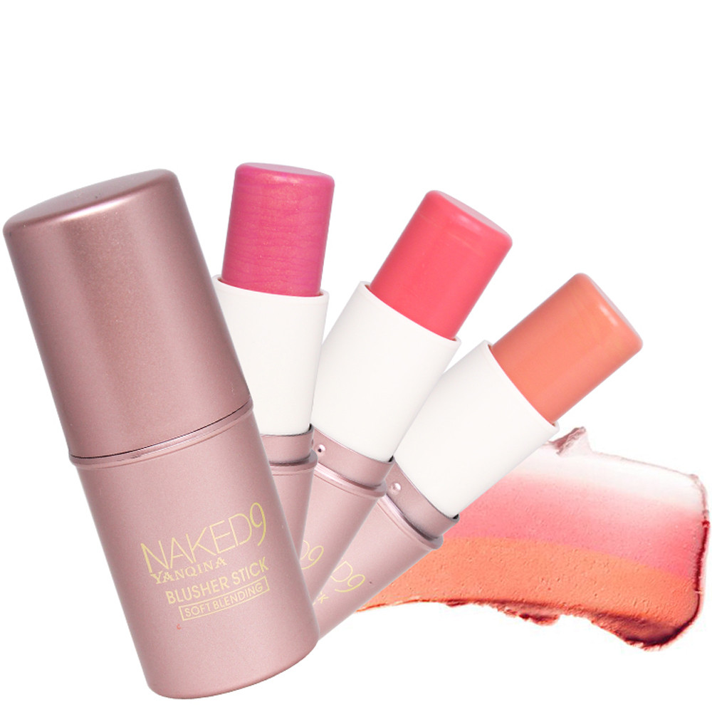 3 Color Matte Blusher Stick Makeup Repair Blush Rouge Beauty Products