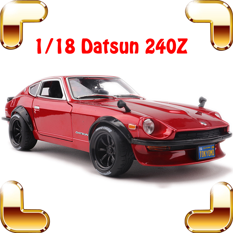 New Coming Gift Datsun 240Z 1/18 Model Metal Car Scale Simulational Static Vehicle Racer Models Decoration House Big Collection new arrival gift traction 1 18 metal model classic car vehicle toys model scale static collection alloy diecast house decoration