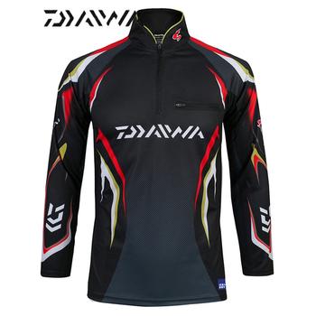2020 w nowym stylu 6 rozmiar odzież wędkarska szybkie pranie odzież Daiwa anty-uv kamizelki wędkarskie kurtka DAIWA DAWA ubrania wędkarskie tanie i dobre opinie LIEYUWANG