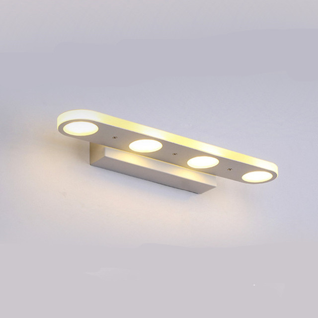 Home Decor Modern Crystal Mirror Front Lamp Waterproof Make Up Led Light For Bathroom White Warm Length 37 58cm