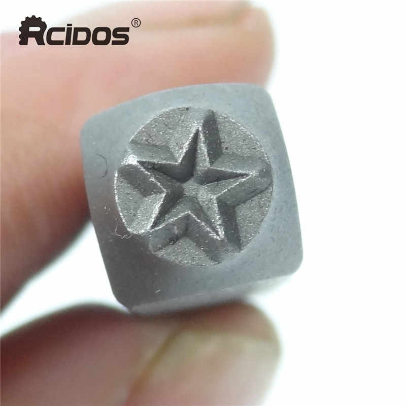 5mm Star Symbols Steel Stamp Letters Steel Word Punch Stamp Metal Jewelry Stamps