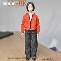 Kumik KMF043 1/6 Scale Full Set Action Figure Woman Figure Model PVC Hobbies Collection Toys