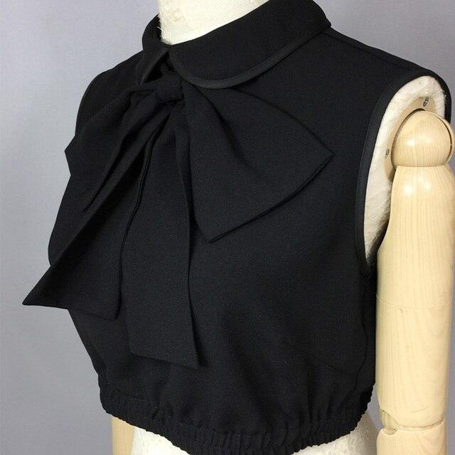 shirt met blouse kraag