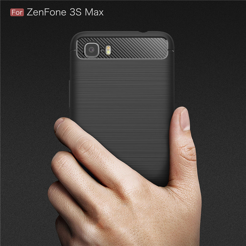 pretty nice 8286a 739fb US $3.32 |Soft Back Cover For Asus ZENFONE Pegasus 3S Max ZC521TL Luxury  Carbon Fiber Silicone Fitted Case For Asus ZENFONE Pegasus 3S Max-in Fitted  ...