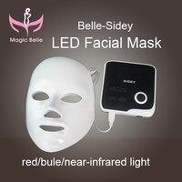 Легко использовать фототерапии электрические маска для лица led маска кожи с учение видео