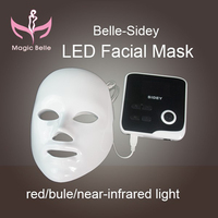 Easy to use phototherapy electrical facial mask led mask skin with teaching video