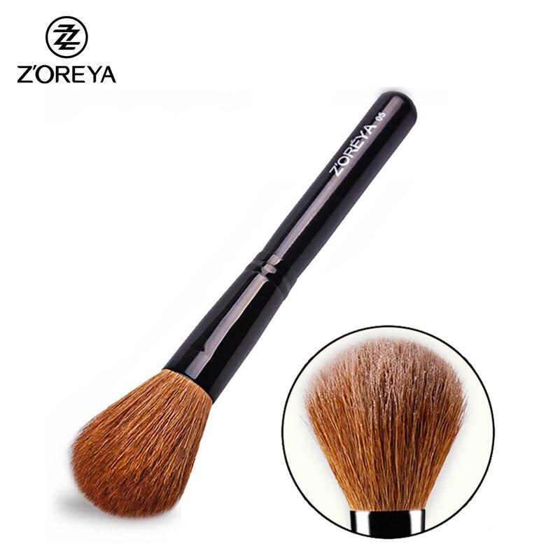 New Makeup Blush Brush Natural Goat Hair Superior Mineral Blush Make Up Brushes Endurable Cosmetic Tool High Quality Maquiagem make up factory blush brush