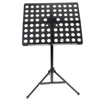 Flanger Colourful Sheet Folding Music Stand Aluminum Alloy Tripod Stand Holder With Soft Case Carrying Bag