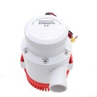 Marin Submersible Water Pump 12V 24V 3500GPH Bilge DC Pump For Swimming Pool Boat