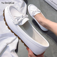 New Women Flats Soft Lab Non-Slip Medical Shoes Hospital Comfortable Surgical Shoes Moccasins Shallow Nurse Mother Medical shoes(China)