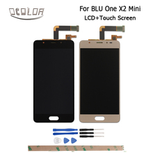 Ocolor For BLU Life One X2 Mini LCD Display + Touch Screen 5.0inch Screen Digitizer Assembly Replacement +Tools + Adhesive
