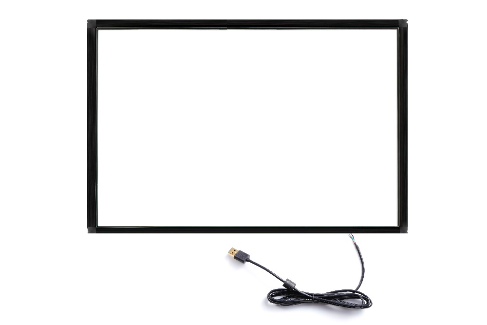 Touch 55 inch multi IR Touch Screen Panel 10 touch points Infrared Touch Screen Frame with High Resolution