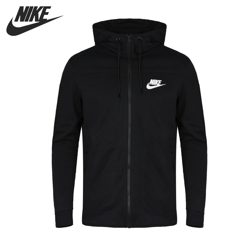 Original New Arrival 2018 NIKE NSW AV15 HOODIE FZ FLC NF Men's Jacket Hooded Sportswear