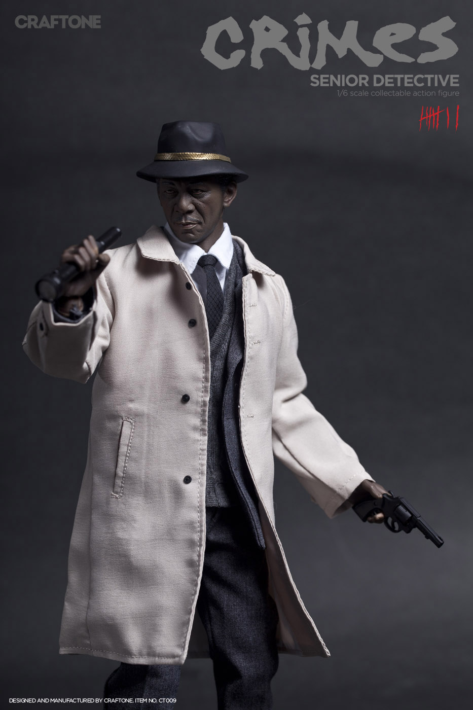 1/6th collectible figure doll Se7en Detective Lt. William Somerset Morgan Freeman 12 action figure doll not include chair 1 6th collectible figure doll se7en detective morgan freeman