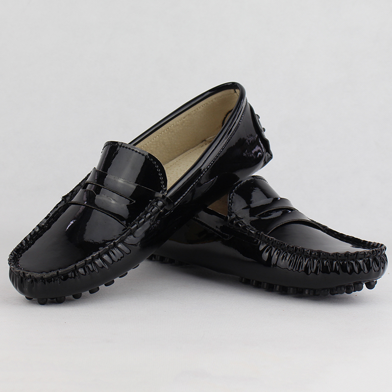 Image 5 - New Design Women Flat Shoes Pu Leather Women Flats Driving Shoes Comfortable Soft Moccasins Fashion Casual Leather Shoes-in Women's Flats from Shoes
