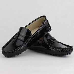 Image 5 - Novas Mulheres de Design Sapatos Baixos Mulheres de Couro Pu Apartamentos Sapatos de Couro de Condução Sapatos Mocassins Macio E Confortável Moda Casual