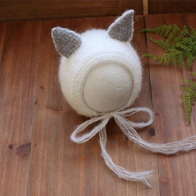 0d05566a56c Online Shop Baby Girl Animal Bonnet Knitted Newborn Baby Boy Fox Hat ...