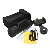 Universal 35x50 HD Optical Monocular Telescope Zoom Phone Lens Observing Survey Camping Telescope With Holder For