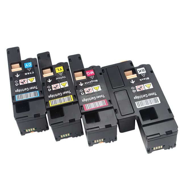 Cartouche de toner couleur Compatible BK/C/M/Y pour imprimante Dell E525w E525 593-BBJX à haut rendement