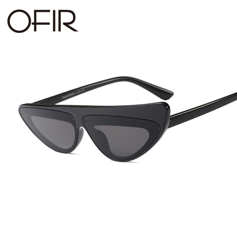 OFIR 2018 Women Sunglasses Asymmetric Cats Sun Glasses Hot Fashion Brand Personality Womens Designer Big Frame Eyewear UV400