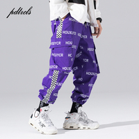 New Arrival Harajuku Japanese Style Letter Printed Fashionable Men's Jogger Trousers Hip Hop Autumn Casual Male Harem Pants