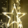 five star 220v/110v   christmas new year decoration christmas led lights Curtain Star string lights for wedding decorations