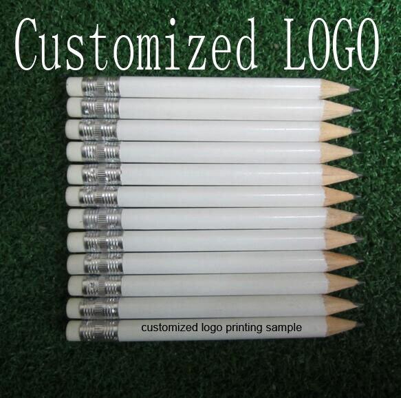 5000EA personalizada impresión de la insignia de color blanco 3.5 pulgadas longi