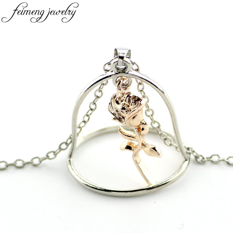 feimeng jewelry fairy tale movie beauty and the beast