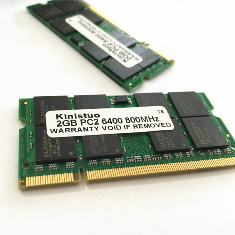 NEW <font><b>Notebook</b></font> dedicated memory 4GB 2GB 1GB <font><b>DDR2</b></font> 800 PC2-6400 2G <font><b>DDR2</b></font> 800MHz sodimm laptop <font><b>ram</b></font> compatible with R60 T60 T61P X61 image