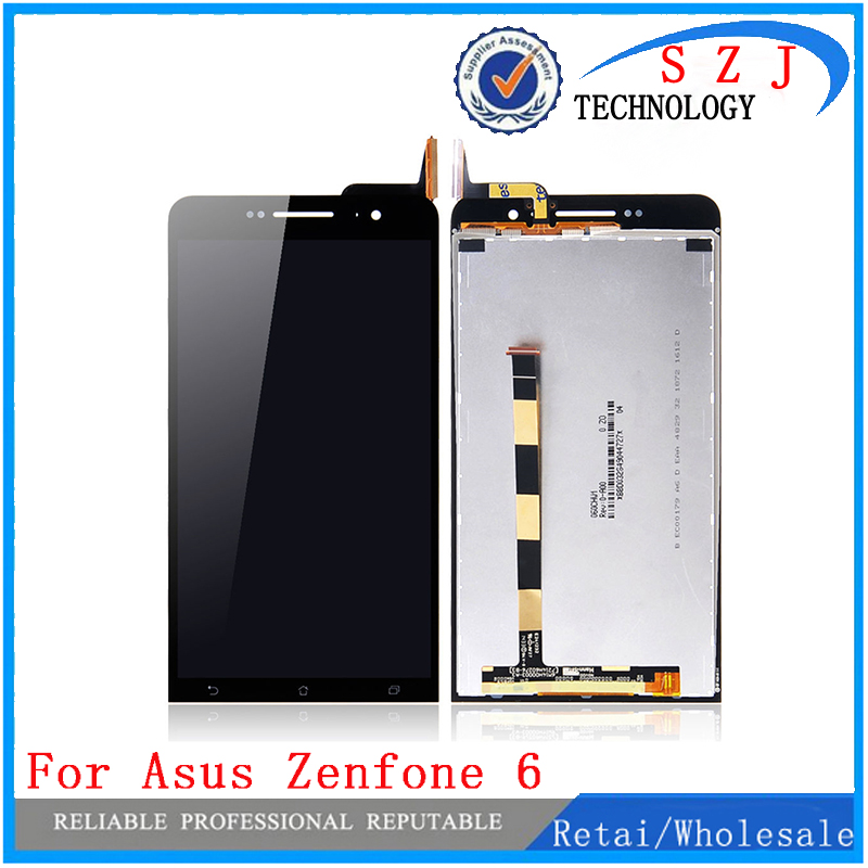 Original For ASUS Zenfone 6 A600CG LCD Display With Touch Screen Digitizer Assembly Replacement Free shipping 5 5 lcd display touch glass digitizer assembly for asus zenfone 3 laser zc551kl replacement pantalla free shipping
