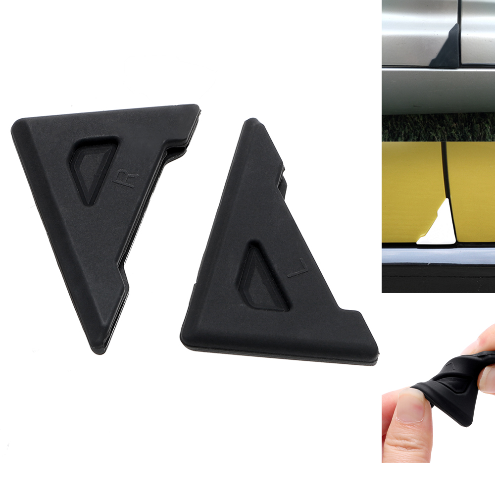 2 piece Silicone Car Door Corner Cover Bumper Crash Scratch Protector Anti-Scratch Car-styling Crash Protection Auto Care стоимость