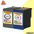 2PK Compatible for HP 21 and for hp22 XL Ink Cartridge for hp21 for HP Deskjei 3910/3920/3930/3940/D1311/D1320/D1330/D1341/D1360