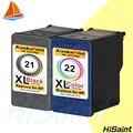 2pk compatível para hp 21 e para cartucho de tinta para hp21 hp22 xl para hp deskjei 3910/3920/3930/3940/d1311/d1320/d1330/d1341/d1360