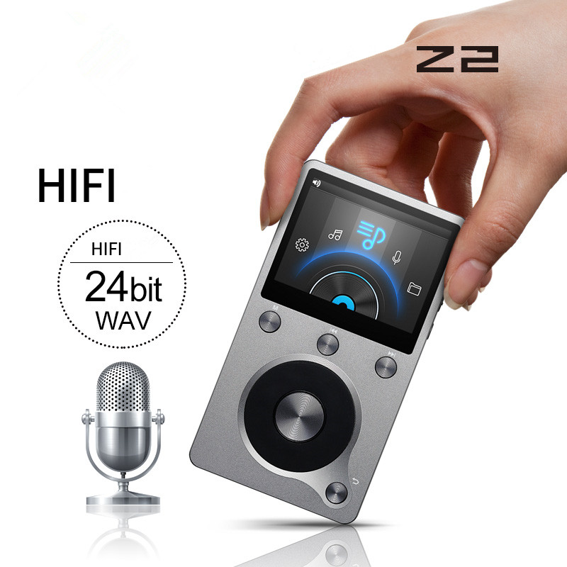 2017 Newest Original Aigo Z2 High Quality 8G Portable DSD HIFI  Lossless Recording Audio  Music Player Mini Movement MP3 Player newest aune m1s portable professional lossless music mp3 hifi music player dap supported wam flac dsd ape mp3 alac aac