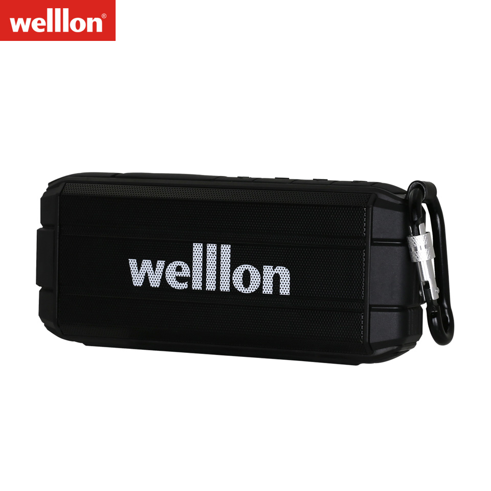 Welllon K3 Ultra Waterproof Portable Wireless <font><b>Bluetooth</b></font> Speaker Louder Volume 10W IPX6 Water Resistant <font><b>Bluetooth</b></font> 4.2 <font><b>Dual</b></font> <font><b>Driver</b></font>