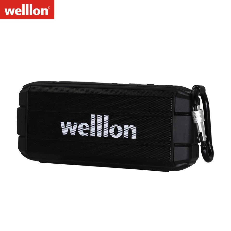Welllon K3 Ultra Waterproof Portable Wireless Bluetooth Speaker Louder Volume 10W
