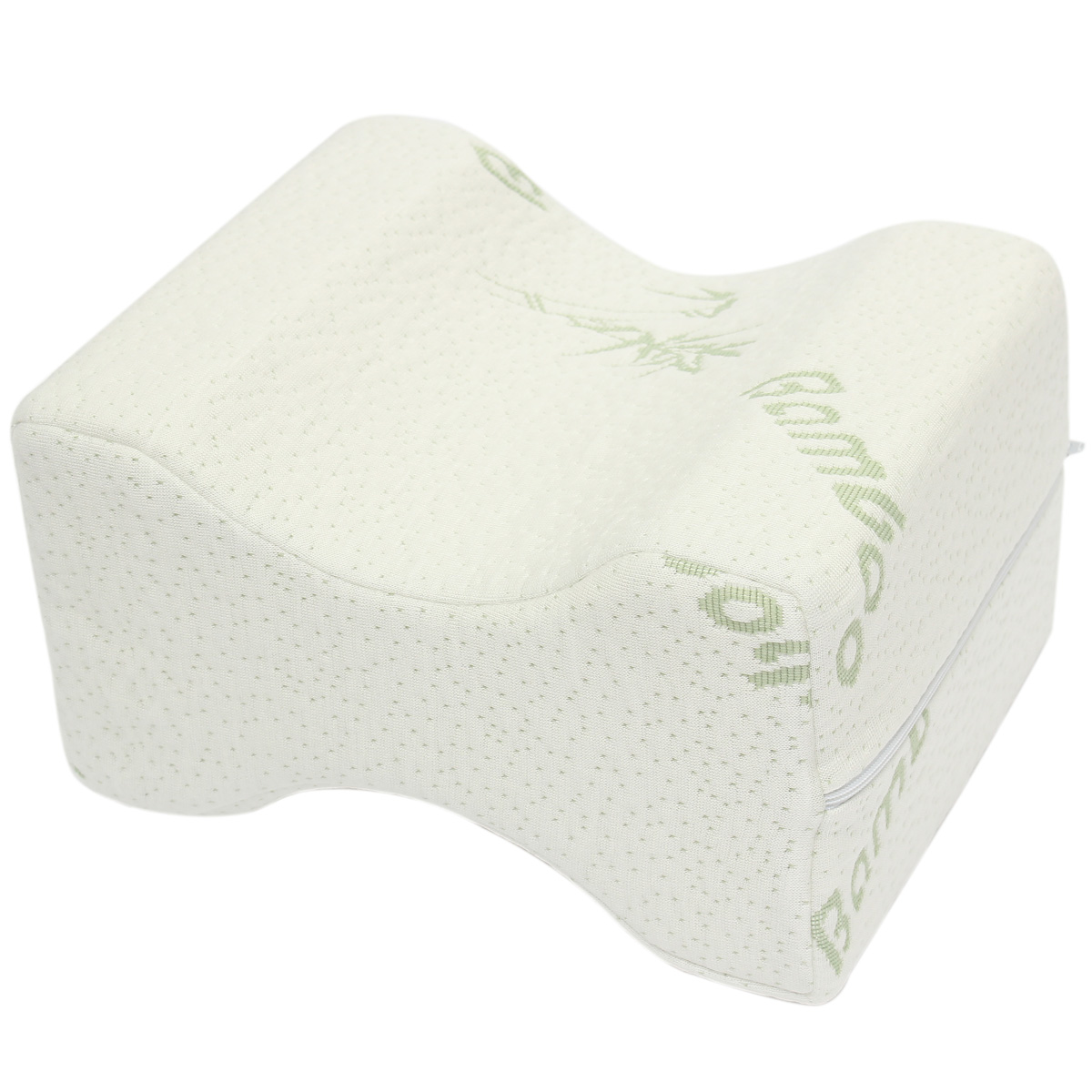 Washable Cover Memory Foam Knee Hip Leg Pillow Bed Cushion Wedge Relief Support