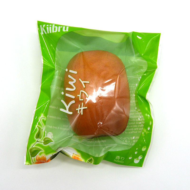 20 Pieces lot Hot Kiibru 8CM Kiwi Squishy Scented Super Slow Rising Fruit Soft Original Packaging