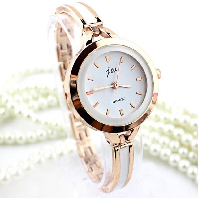 7e956e04d0 2018 New Luxury JW Bracelet Watches Fashion Ladies Watch Girl Quartz  Wristwatch Lady Clock Casual Women Watches Relogio Feminino