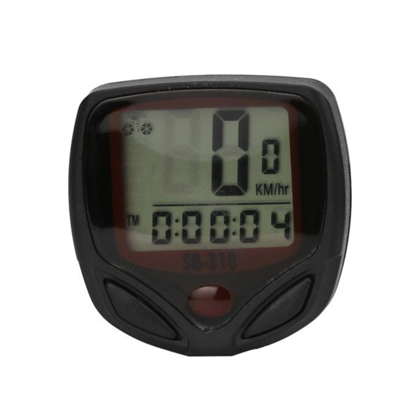 Wired Stopwatch Bike Computer Speedometer Odometer Cycling Bicycle Computer Bike Measurable Temperature Stopwatch #4AP19 cateye bicycle computer wired bike speedometer with cadence sensor mtb rode bike stopwatch computer speedometer for bicycle