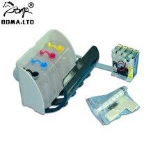 BOMA.LTD Bulk Ciss System WIth ARC Chip For Epson WF-7720 WF-7715 WF-7710 WF-7210 WF-7620 WF-7110 WF-7610 Printer