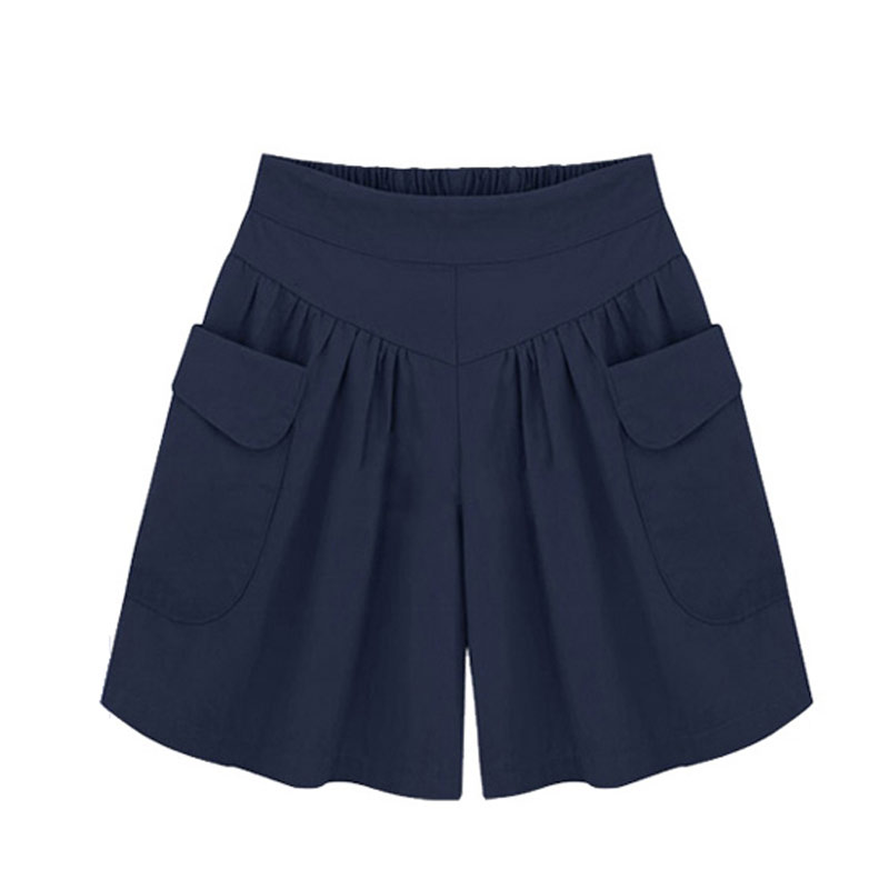 Navy Blue Women'S Shorts - The Else