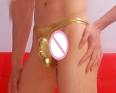 Patented Men's Underwear Men's Trousers Sexy Low Waist Men's Underwear Gay Jockstrap String Homme Gay Underwear