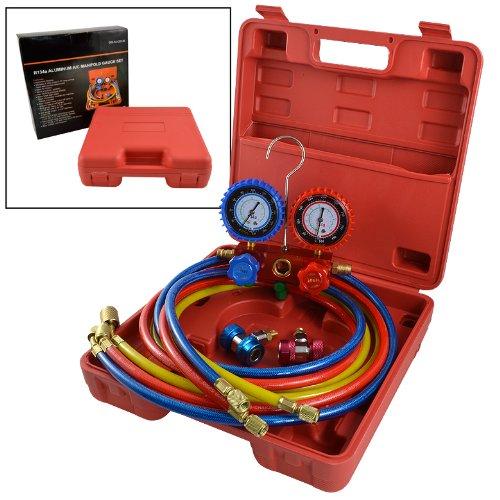 New HVAC A/C Refrigeration AC Manifold Gauge Set for R134A  цены